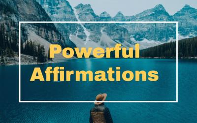 Affirmations – A unique way to manifest Dreams